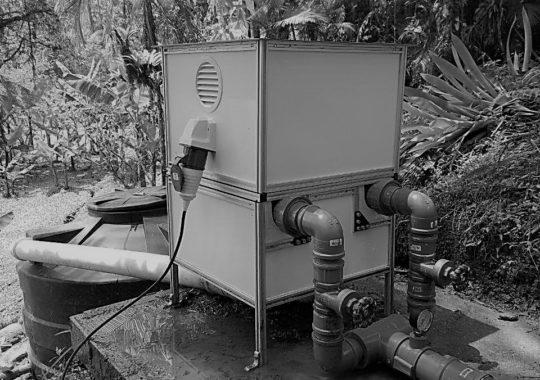 A micro usina hidrelétrica do tamanho de uma lavadora de roupas